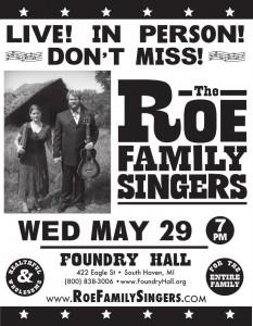 ROE FAMILY SINGERS | foundryhall.org